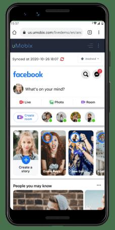uMobixtracking communication on social networking