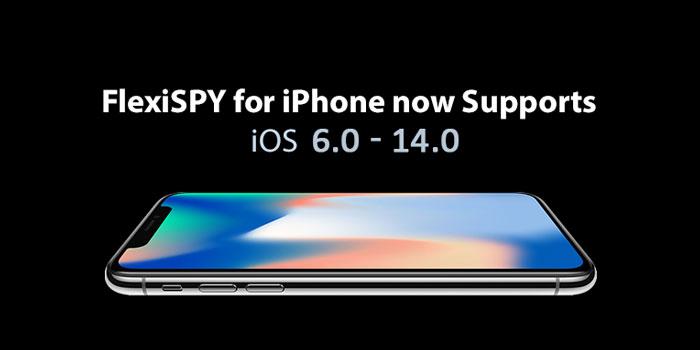 FlexiSPY™ app with iOS versions