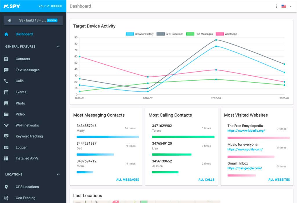 mSpy spy app Monitoring